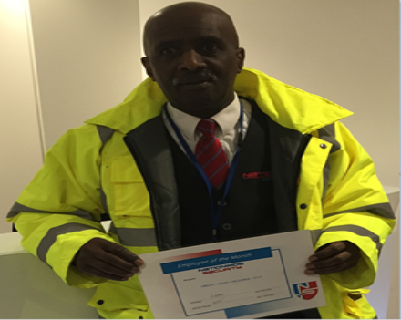 Employee of the Month Dwight Smiley